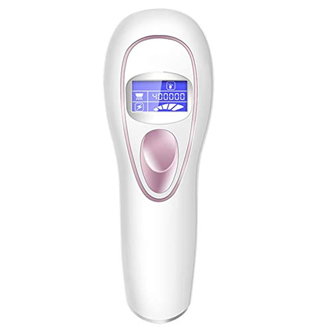 適応受け継ぐ乳剤IPL脱毛システム、400,000回のフラッシュで冷却ケアIPL脱毛剤、体、顔、ビキニと脇の下に適して