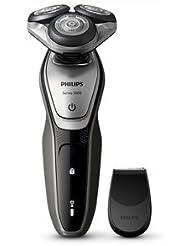 フィリップス 電気シェーバー (ブラックメタリッククローム/シルバー?ブラック )PHILIPS 5000シリーズ ウェット&ドライ S5216/06