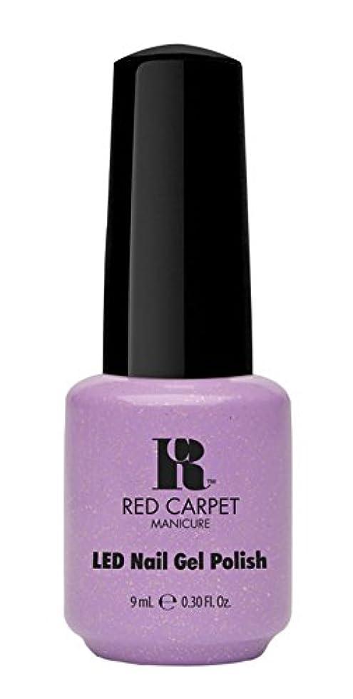 モック毎月戻るRed Carpet Manicure - LED Nail Gel Polish - Royal Transformations - 0.3oz / 9ml