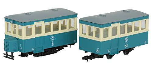 鉄道コレクション 鉄コレ ナローゲージ80 猫屋線 ジ3・ハ51 新塗装 ジオラマ用品 (メーカー初回受注限定生産)