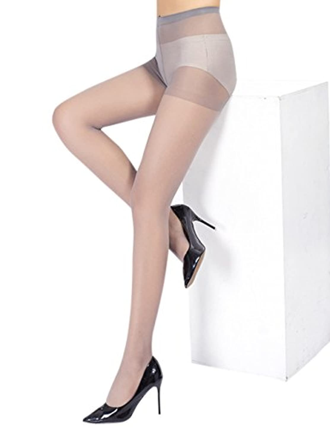 すなわち電圧衰えるLiebeye ストッキング 女性 レディース 夏 超薄型 ソフト シルク シンプル セクシー ソリッドカラー パンティ フリーサイズ