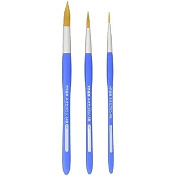 サクラクレパス 画筆 ネオセブロン 丸型 3本セット 筆筒入り NR3A-T