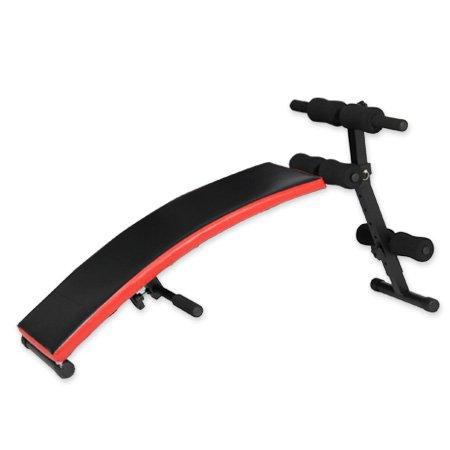 シットアップベンチ カーブ型 腹筋 背筋 腕立て用 LE-4CB
