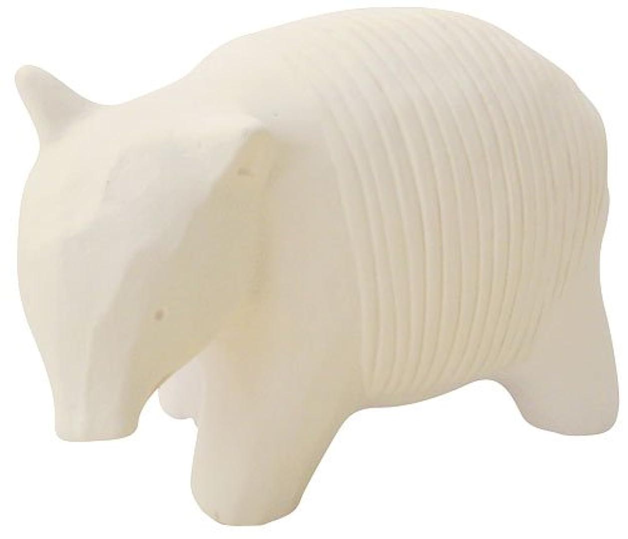 ジム小売補うフリート のんびり動物 プチアロマ 白バク