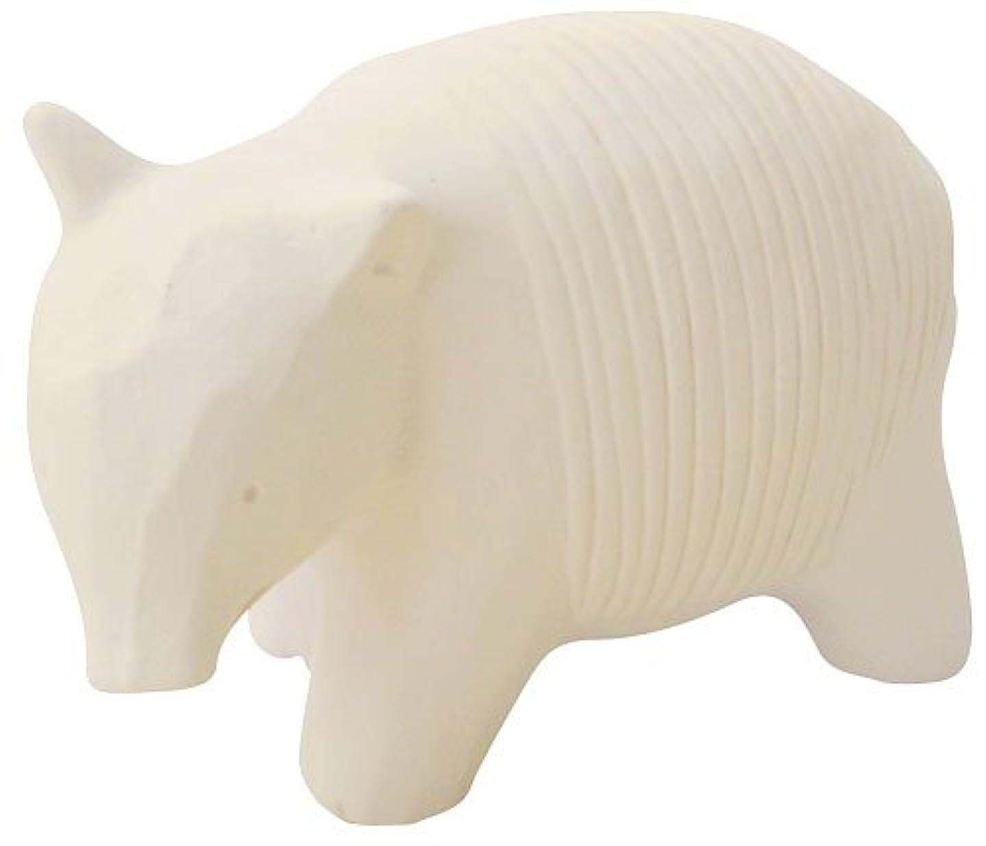 繊細ハムインカ帝国フリート のんびり動物 プチアロマ 白バク