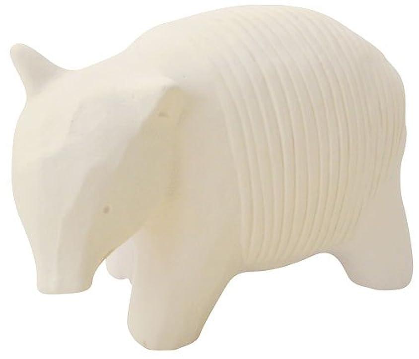 麺愛情ケーキフリート のんびり動物 プチアロマ 白バク
