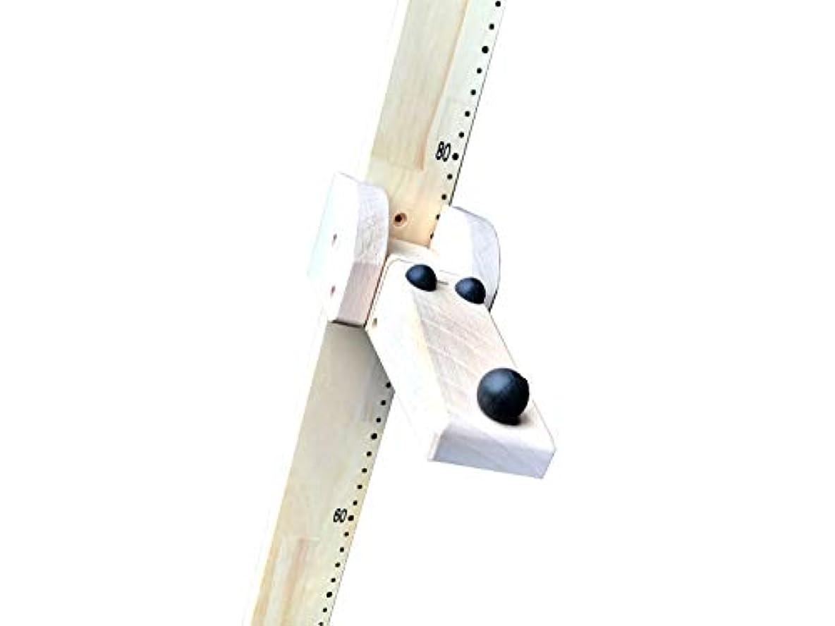 ほぼ麻痺ディーラーICHIMOKU キッズメジャー 木製 身長計 iswd101-t1