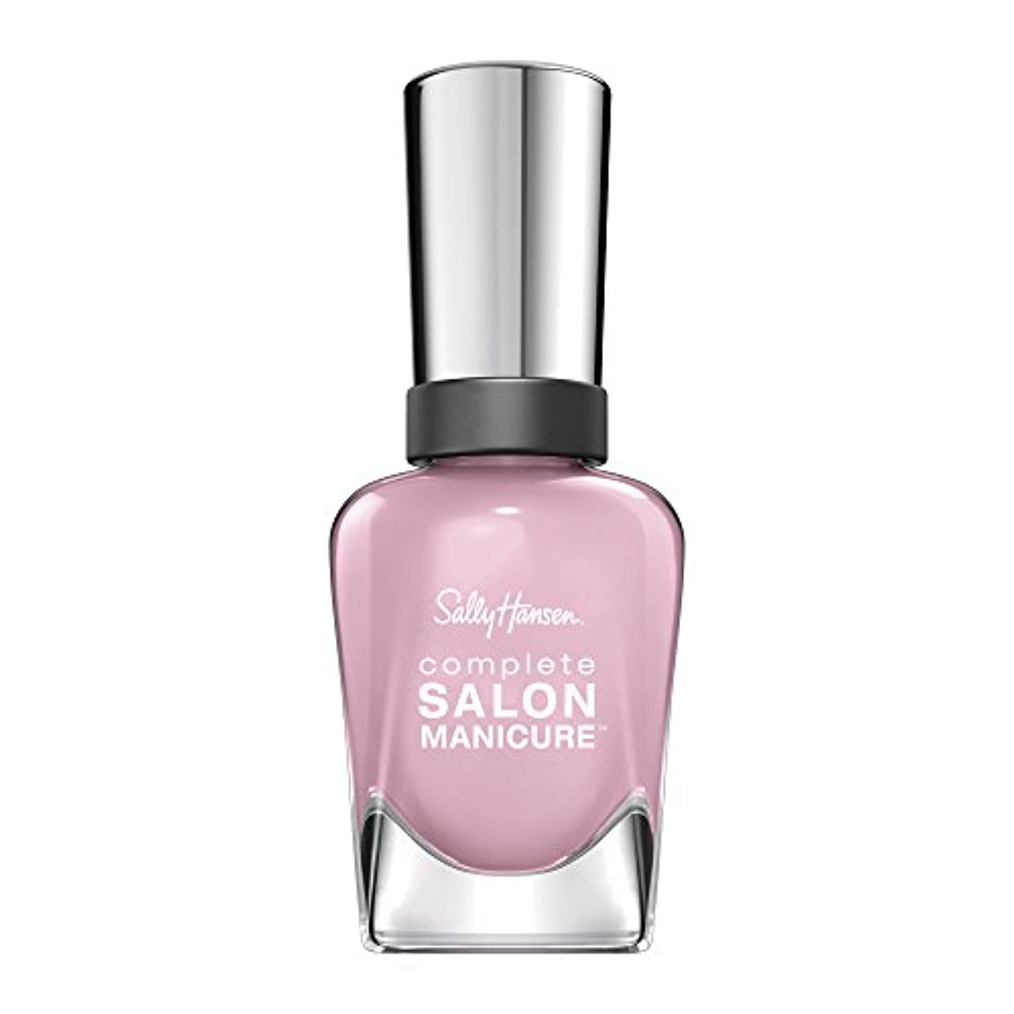 進捗有限再生可能SALLY HANSEN COMPLETE SALON MANICURE NAIL COLOR #350 PINK A CARD