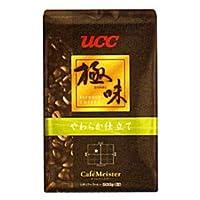 (2個まとめ売り) UCC上島珈琲 UCC極味 やわらか仕立て(豆)AP500g 12袋入り UCC310478000