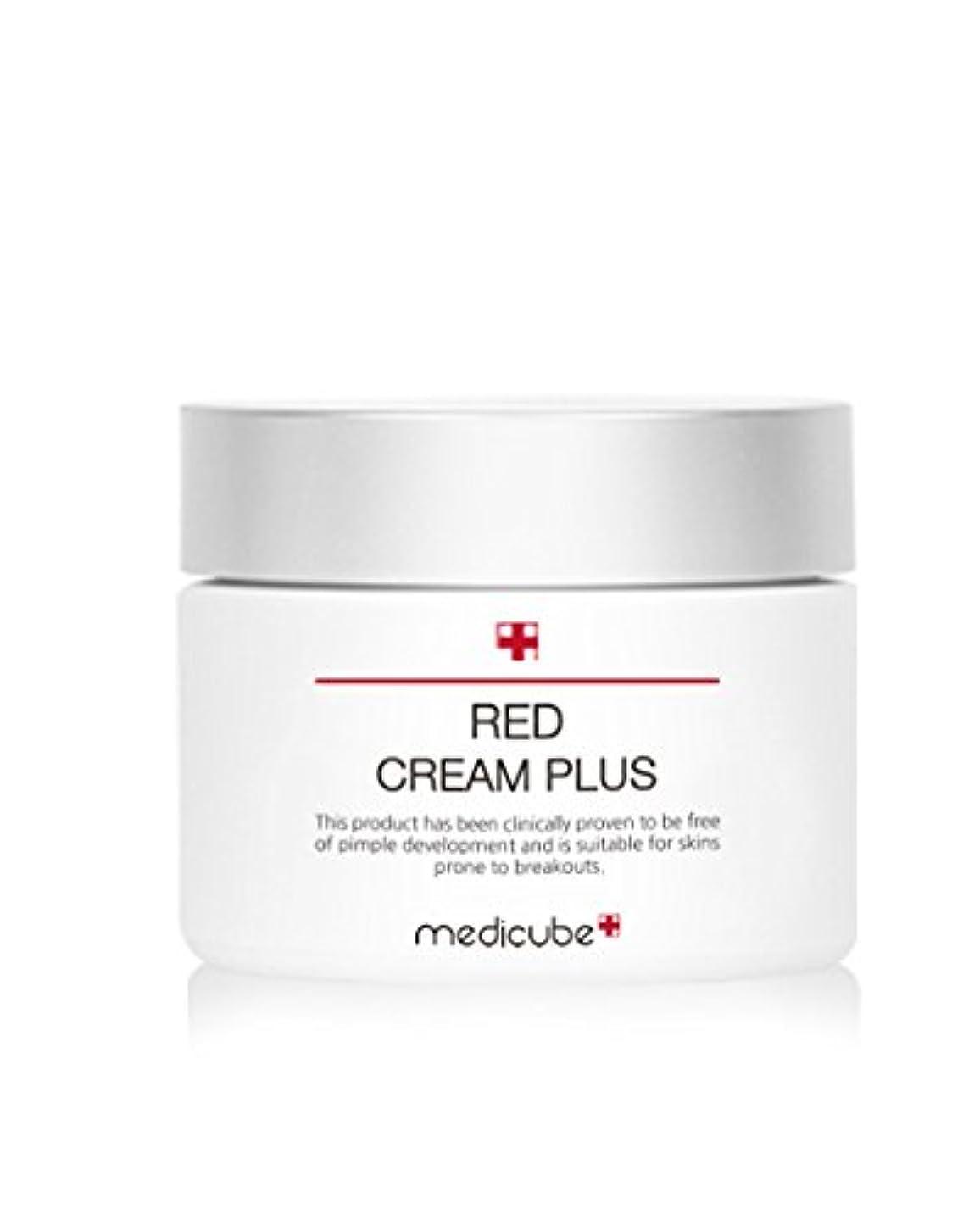 彫刻アプライアンス寺院[Medicube]メディキューブ レッド クリーム プラス 大容量 100ml / Medicube Red Cream Plus 100ml [並行輸入品]