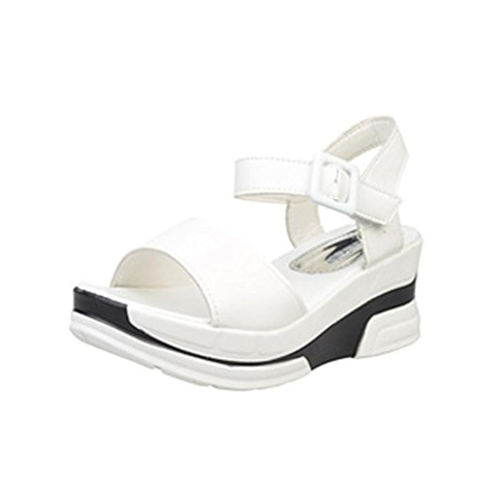 テクスチャー解決するここに[シューズ Foreted] サンダル フラット アンクルストラップ 美脚 フォーマル 厚底 おしゃれ 夏 歩きやすい コンフォート ウェッジソール ぺたんこ靴 可愛い