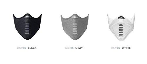 NAROO MASK(ナルーマスク) R5 呼吸で苦しくならないスポーツマスク フェイスマスク (ブラック)