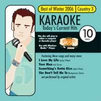 Karaoke: Best of Winter 2006 Country 3