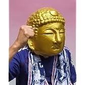 M3 黄金仏マスク-Gold buddhist image大仏