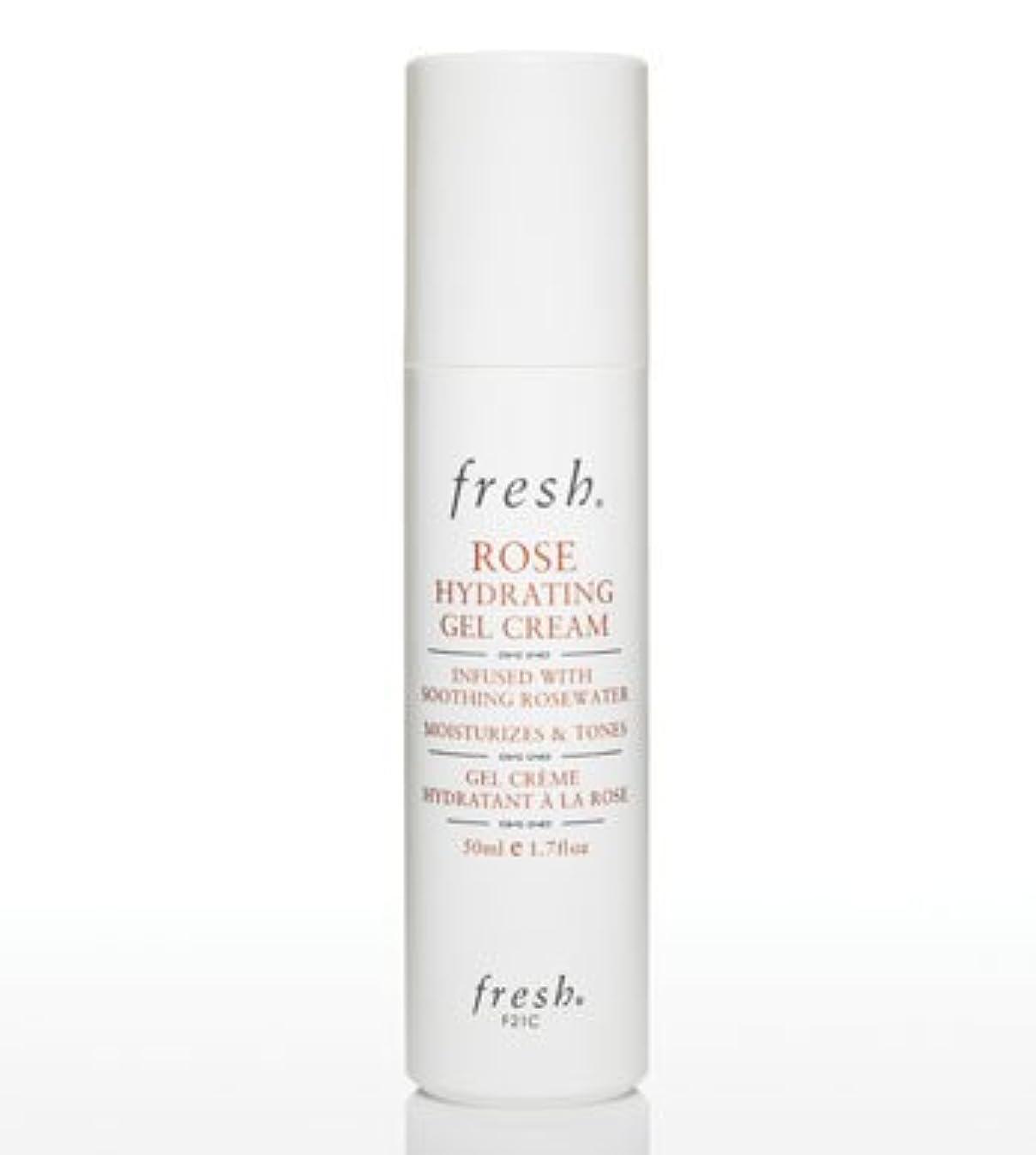 チョコレート女将水Fresh Rose Hydrating Gel Cream (フレッシュ ローズ ハイドレイティング ジェル クリーム) 1.7 oz (50ml)