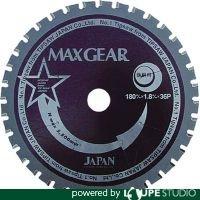 チップソージャパン マックスギア鉄鋼用180 MG180