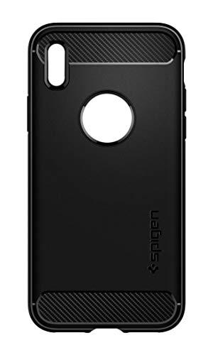 【Spigen】 スマホケース iPhone XS ケース/iPhone X ケース 耐衝撃 米軍MIL規格取得