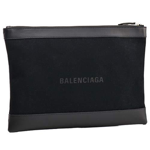 BALENCIAGA BGA・18A NAVY CLIP Mキャンバス 373834AQ3BN/1000/83 ブラック/ブラック