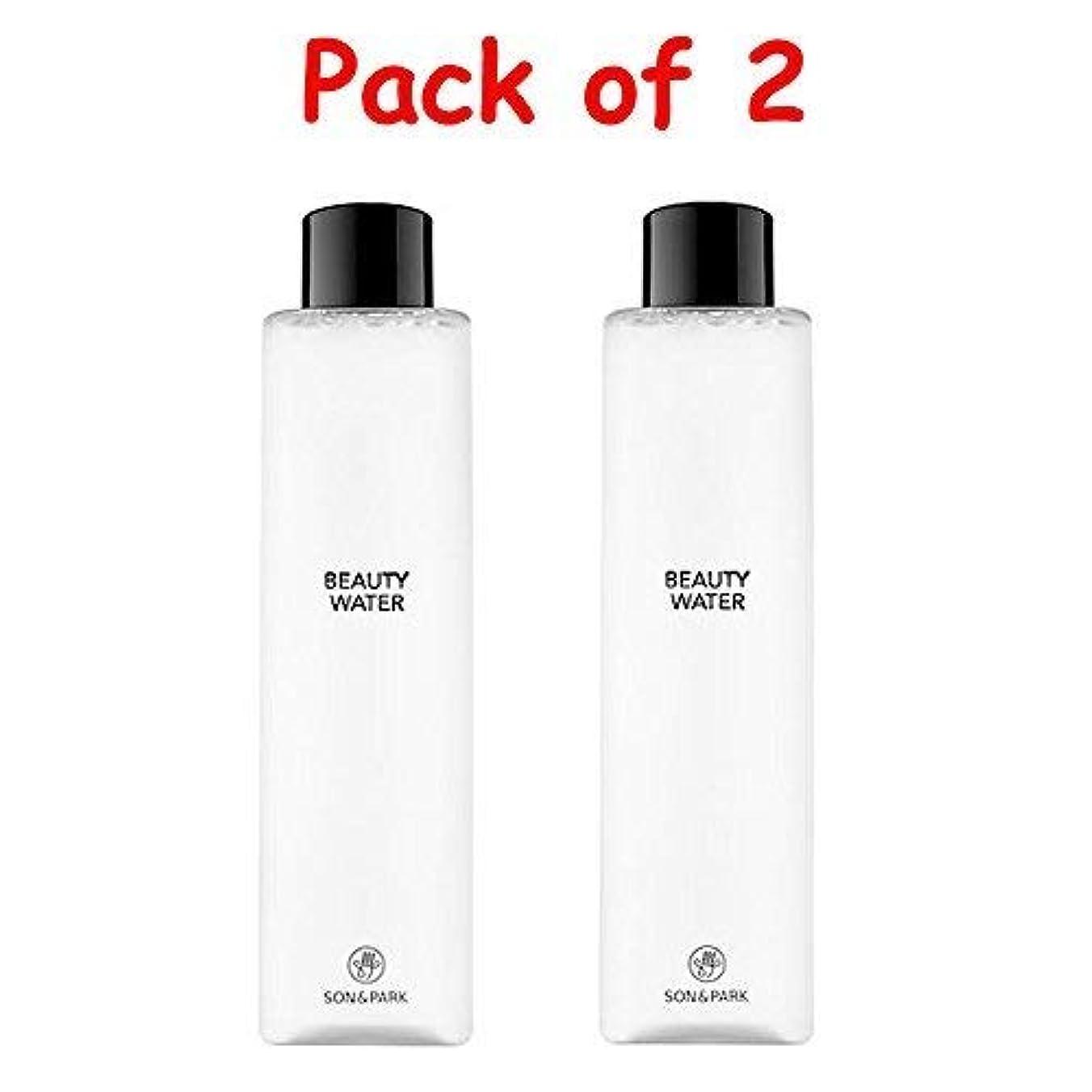 悲しむに付けるお手入れ★1+1 Sale★[SON & PARK]Beauty Water 340ml (Pack of 2) /[ソン & パク] ビューティー ウォーター 340ml (1+1)