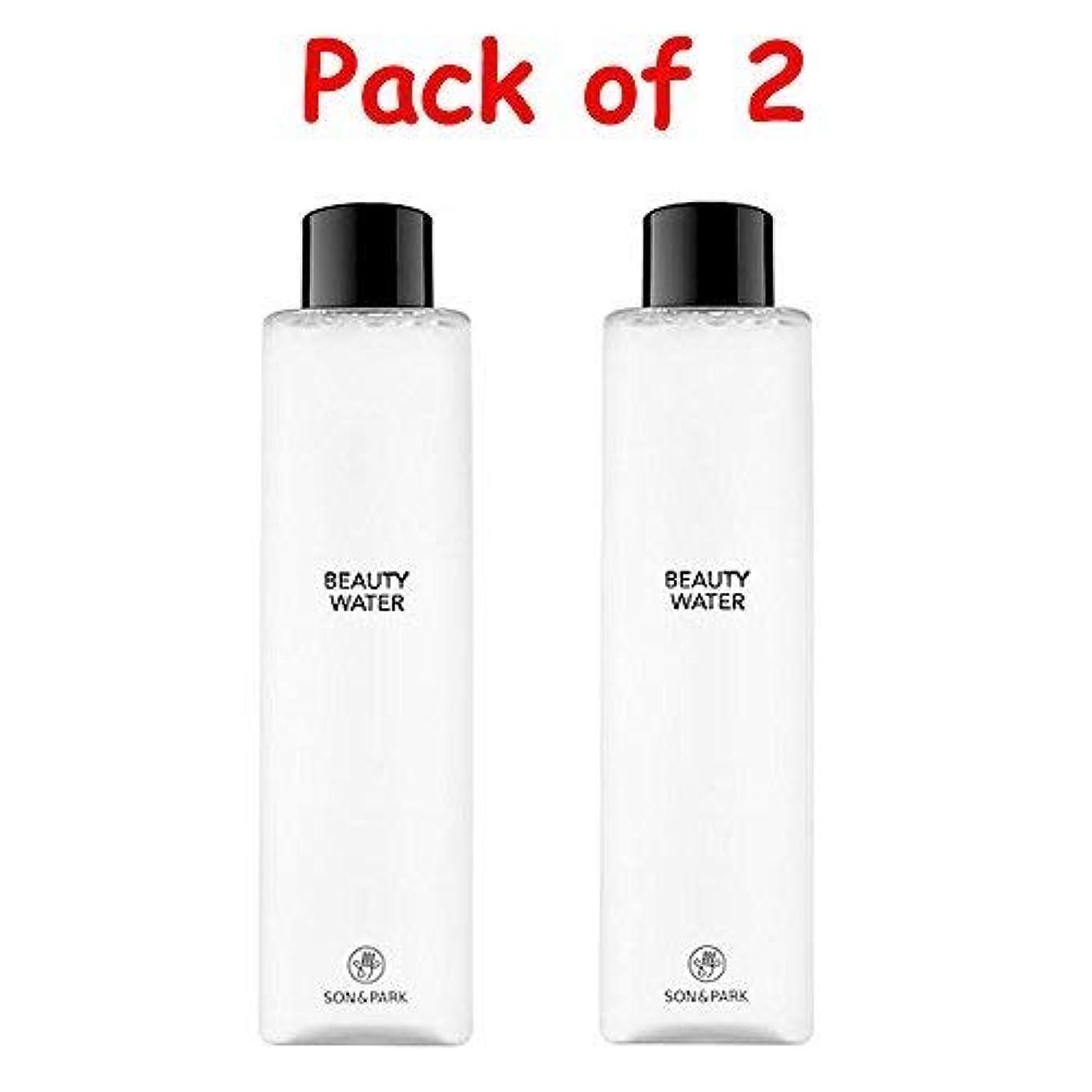 膿瘍ふつうおばあさん★1+1 Sale★[SON & PARK]Beauty Water 340ml (Pack of 2) /[ソン & パク] ビューティー ウォーター 340ml (1+1)