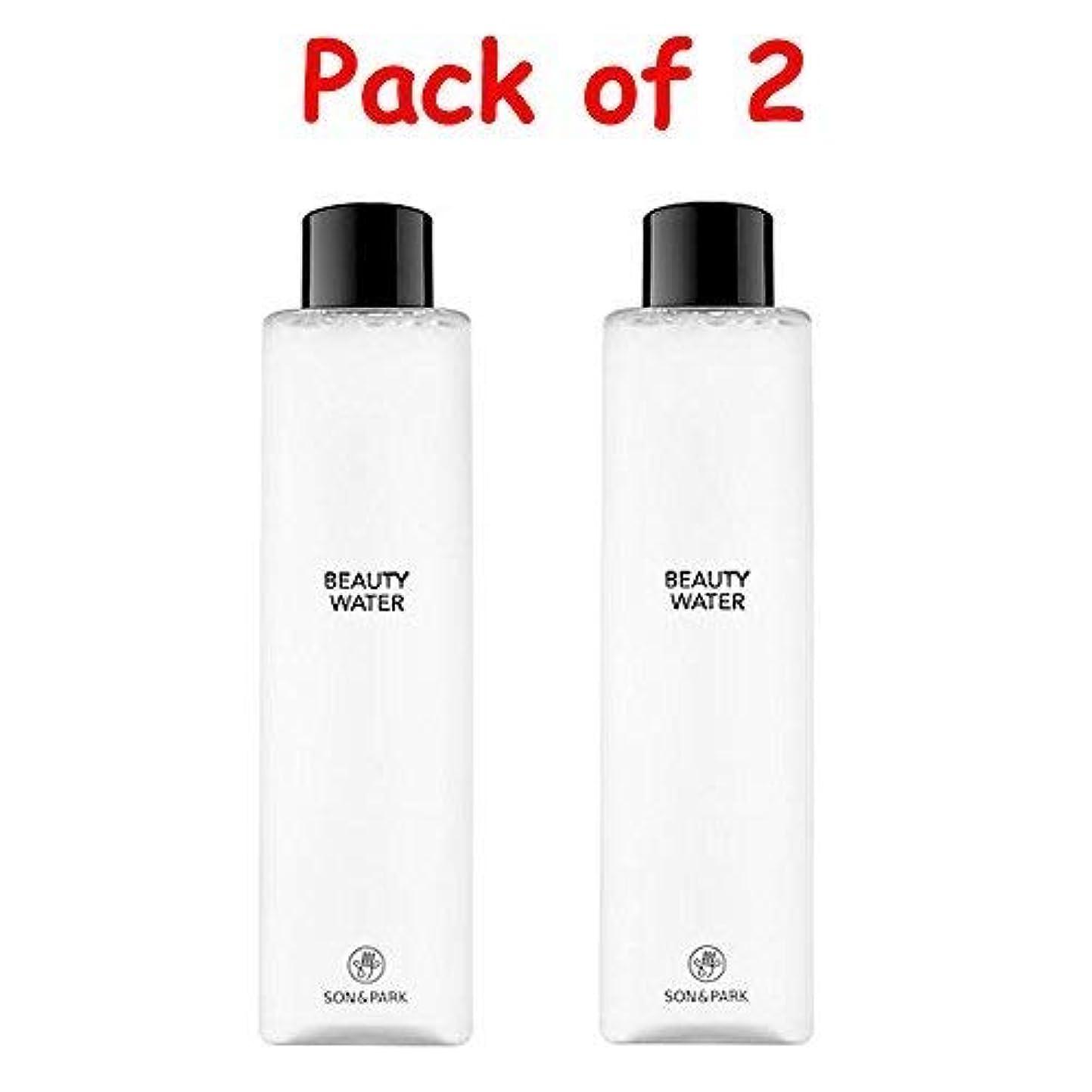 安らぎ参照シャワー★1+1 Sale★[SON & PARK]Beauty Water 340ml (Pack of 2) /[ソン & パク] ビューティー ウォーター 340ml (1+1)