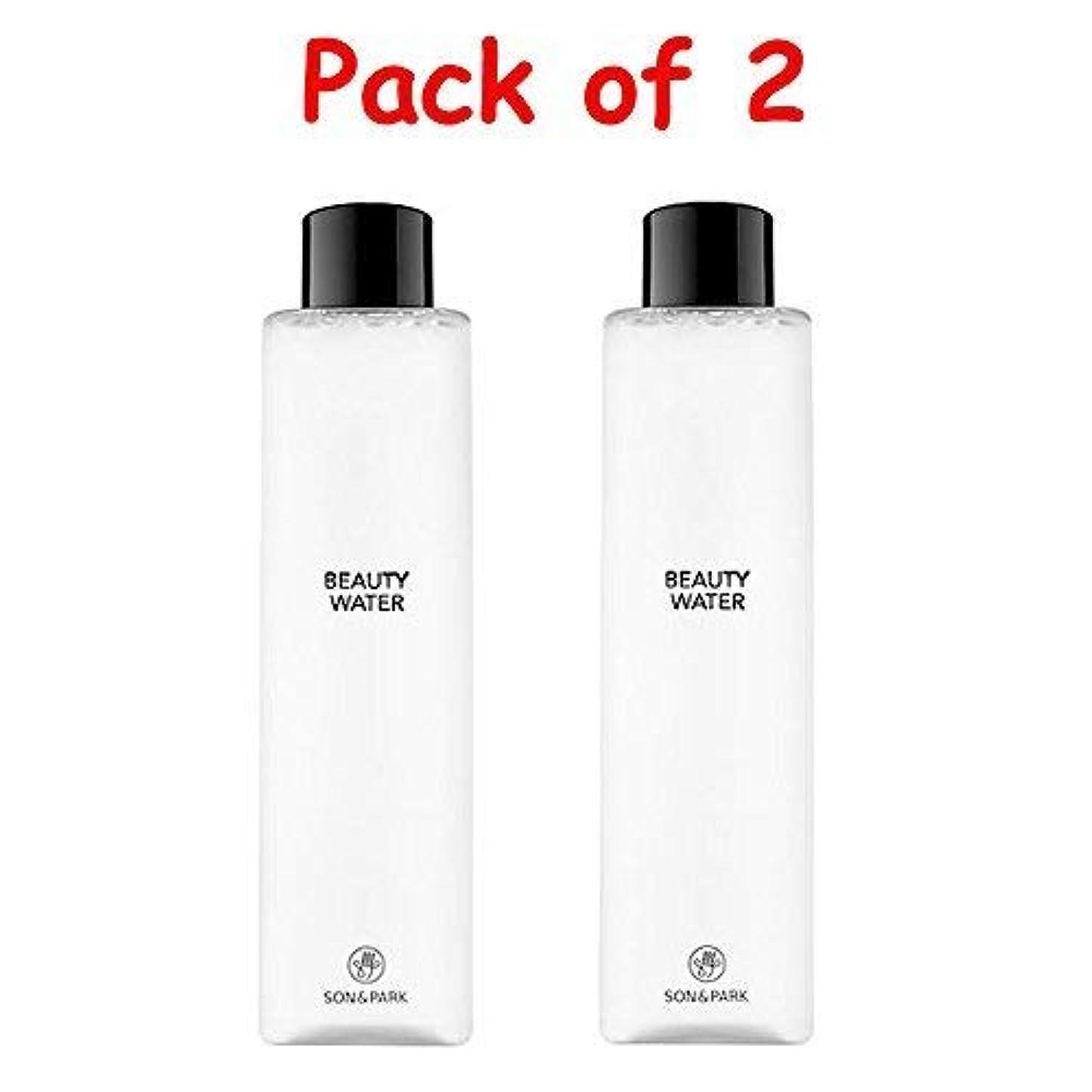 ファンわずかなポスト印象派★1+1 Sale★[SON & PARK]Beauty Water 340ml (Pack of 2) /[ソン & パク] ビューティー ウォーター 340ml (1+1)