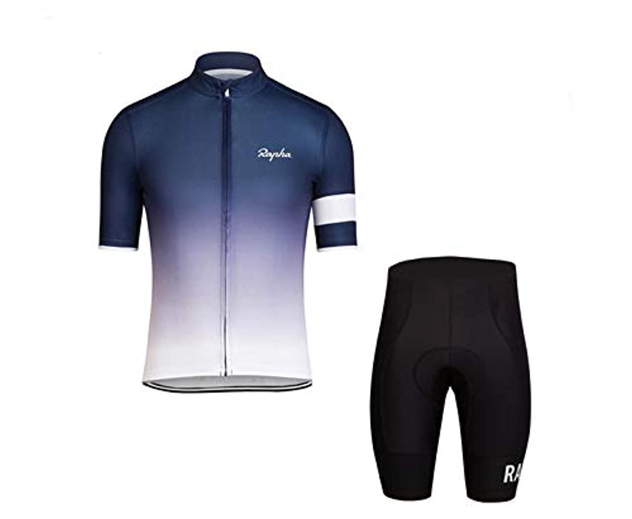 曲がった機密ラップサイクルジャージ 夏 サイクルジャージ 半袖 夏用サイクルジャージ 上下セット サイクルウェア レディース 通気性 人気