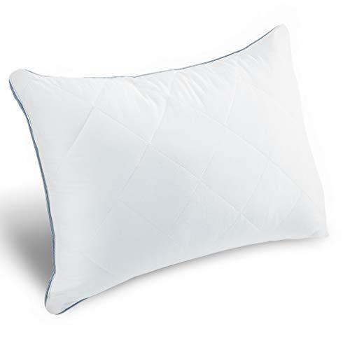 LANGRIA 枕 安眠 人気 肩こり 良い通気性 快眠枕 まくら ホテル仕様 柔らかい 洗える 頭痛改善 快眠 立体構造 低刺激性 100%綿 63cm×43cm