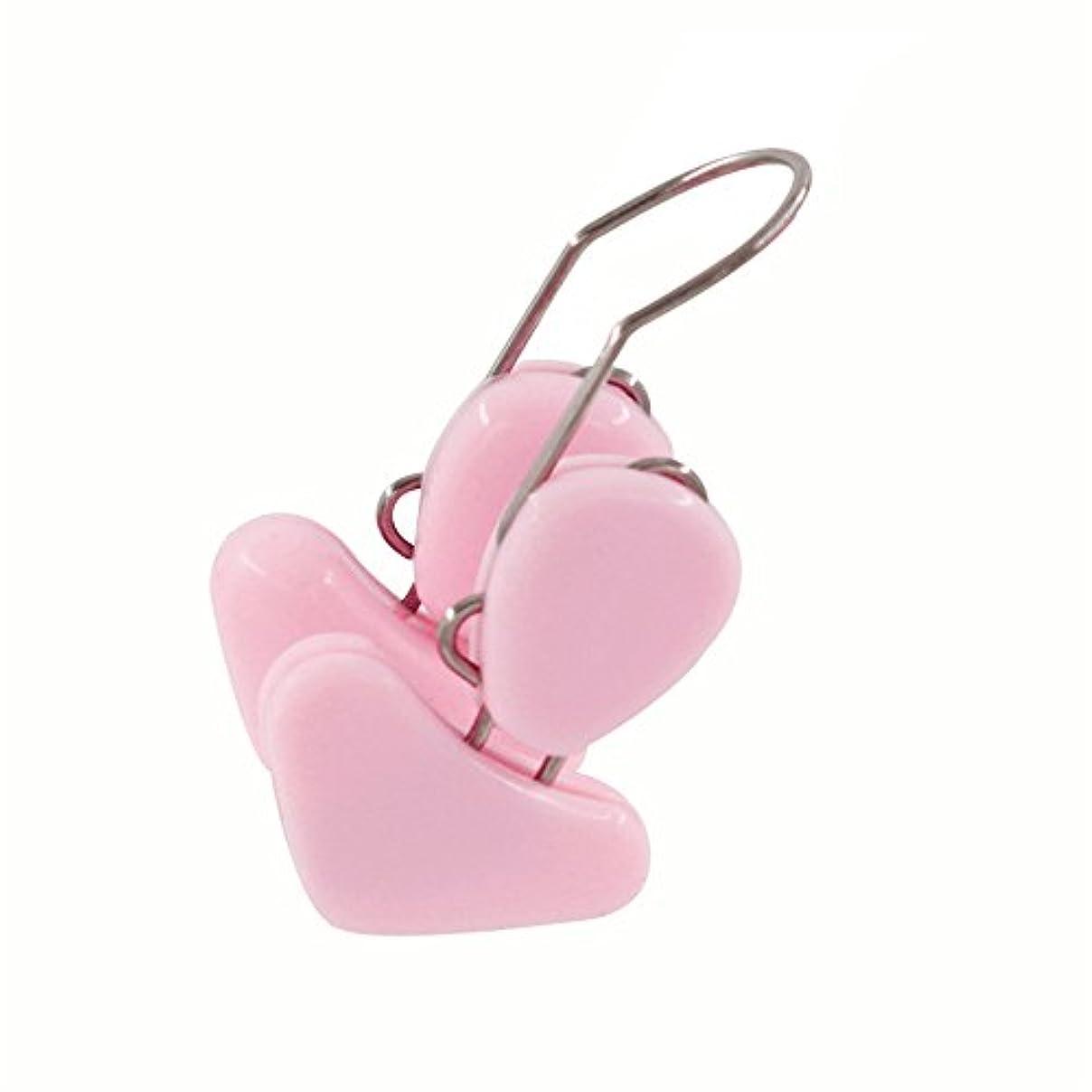 失望悪行申し立てられた鼻 整のクリップ 整形キット 美容クリップ ノーズリフティングシェイパー ストレートホーニングツール ピンク