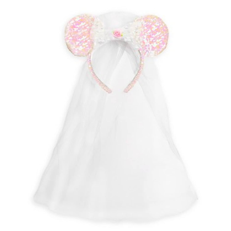 Disney ディズニー ミニーマウス Minnie Mouse Ear Headband Bride ミニー 耳 イヤー カチューシャ ヘッドバンド ウェディング ベール 新婦 ブライド