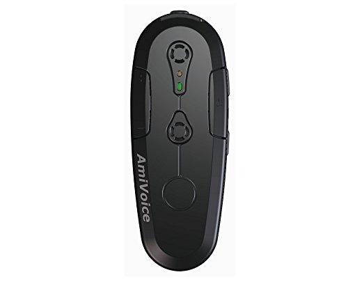 [해외]AmiVoice Front WT01 고성능 Bluetooth 착용 마이크 2 마이크 어레이 음성 인식 전문/AmiVoice Front WT01 High Performance Bluetooth Wearable Microphone 2 Microphone Array Specialized in Speech Recognition