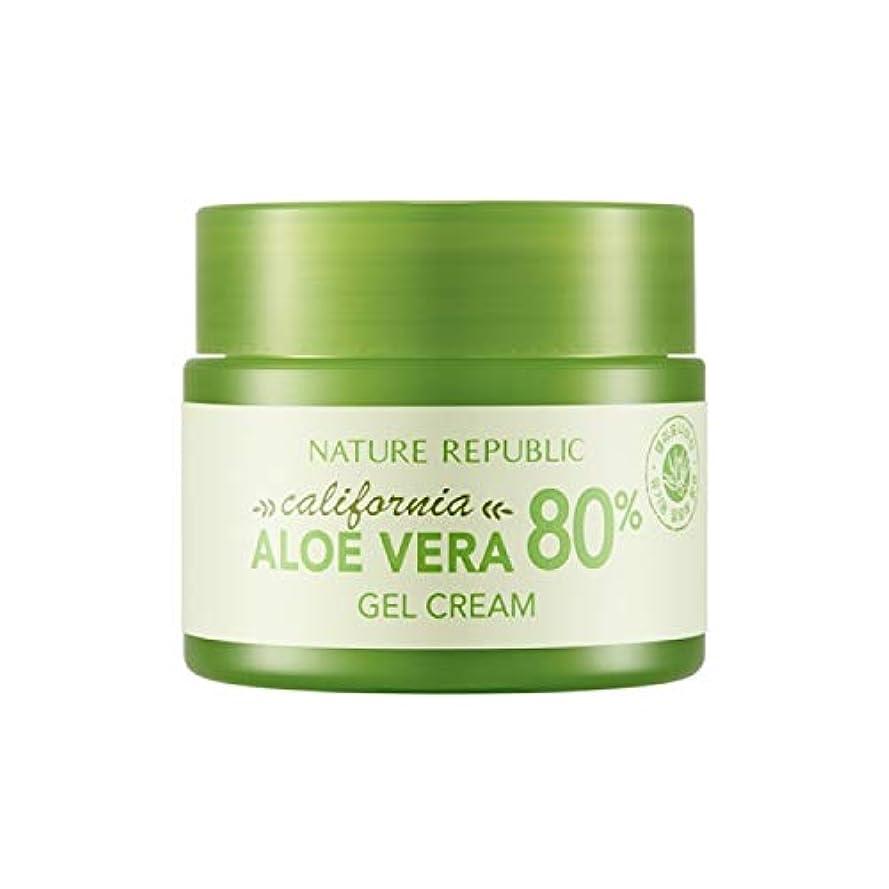 ヤンググローブ統計的ネイチャーリパブリック(Nature Republic)カリフォルニアアロエベラ80%ジェルクリーム 50ml / California Aloe Vera 80% Gel Cream 50ml :: 韓国コスメ [並行輸入品]