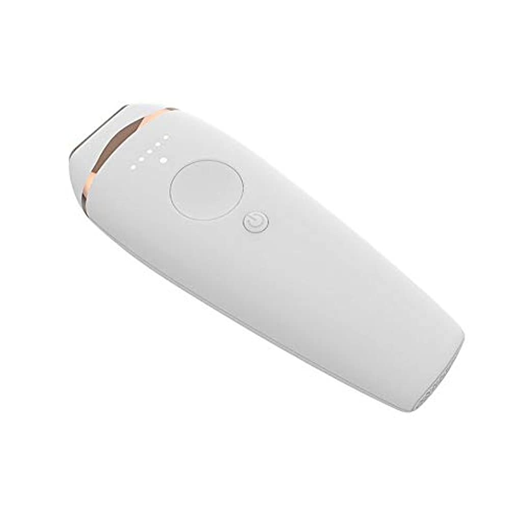 対抗ゾーン正当な痛みのないボディポータブルヘアリムーバーシェービングマシン美容容器、5スピード調整、滑らかで滑らかな肌、サイズ20.5×14.9×6.6センチ 安全性 (Color : Gold)