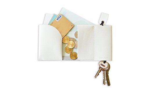 FulltoKeydell フルトキーデル-鍵を収納する財布 (ホワイト)
