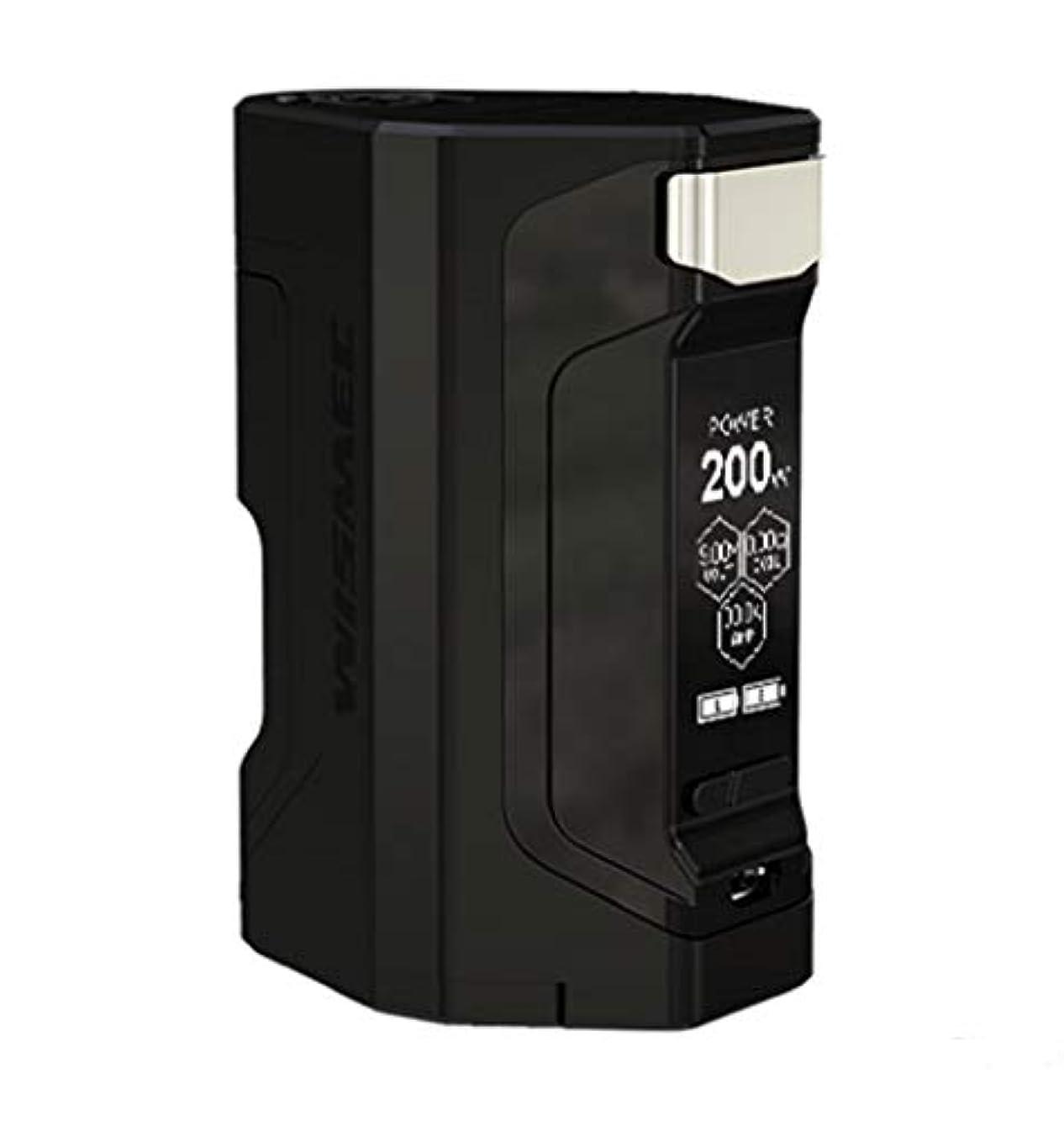 かなり求める求める正規品 WISMEC Luxotic DF 200W TC Box MOD 電子タバコ あいこす本体セットWismec box mod 電子タバコ けんとVape mod ハイエンド (黑)