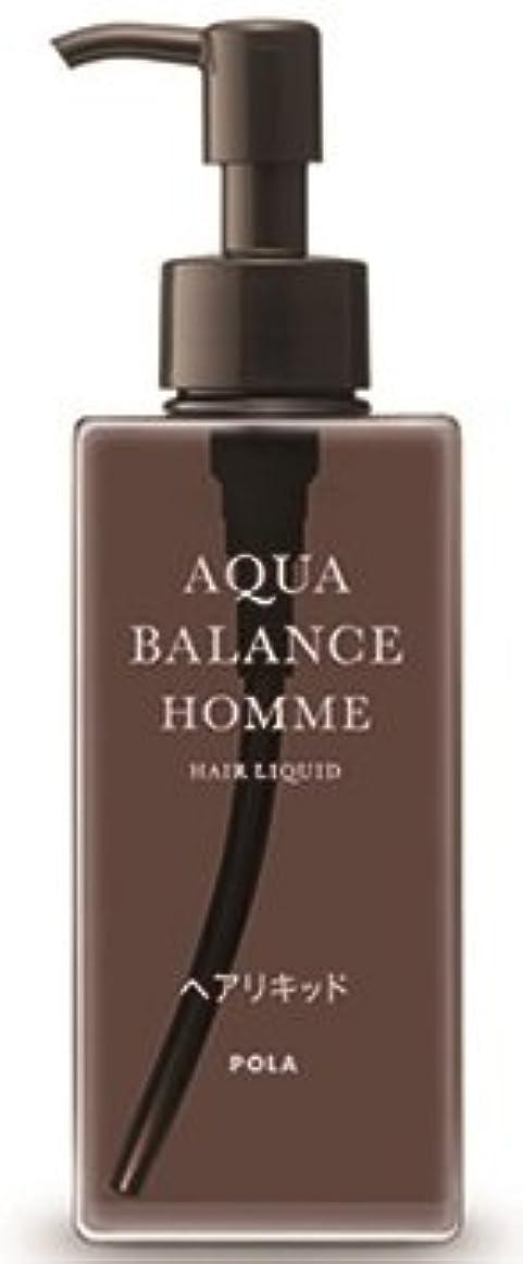 外向き最近手首AQUA POLA アクアバランス オム(AQUA BALANCE HOMME) ヘアリキッド 整髪料 1L 業務用サイズ 詰替え 200mlボトルx1本