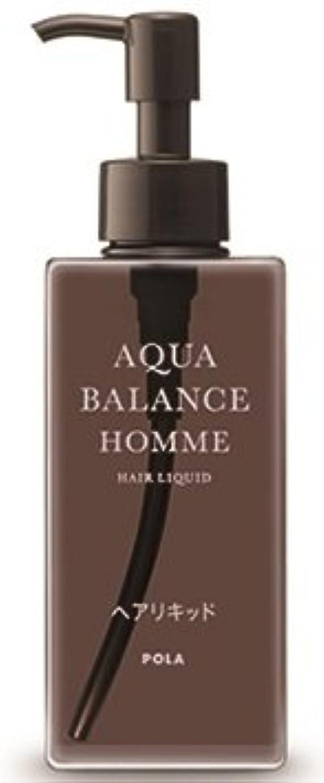 応じるベンチャー大きさAQUA POLA アクアバランス オム(AQUA BALANCE HOMME) ヘアリキッド 整髪料 1L 業務用サイズ 詰替え 200mlボトルx1本