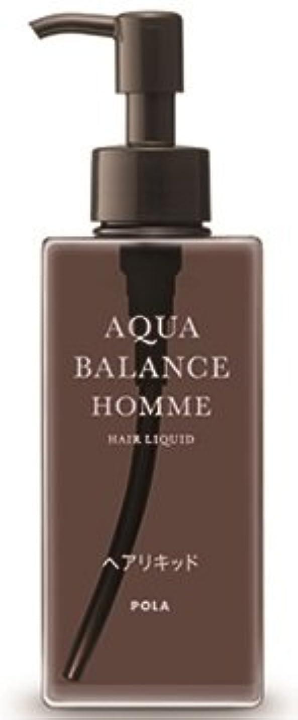 枯れる従事したひもAQUA POLA アクアバランス オム(AQUA BALANCE HOMME) ヘアリキッド 整髪料 1L 業務用サイズ 詰替え 200mlボトルx1本