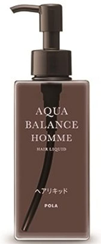 AQUA POLA アクアバランス オム(AQUA BALANCE HOMME) ヘアリキッド 整髪料 1L 業務用サイズ 詰替え 200mlボトルx1本