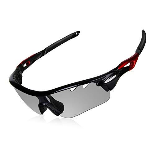 WATERFLY(ウォーターフライ) 調光レンズ 偏光レンズ 変色グラス 調光が早い スポーツサングラス 色が変わる...