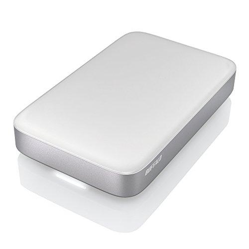 BUFFALO Thunderbolt&USB3.0用 ポータブルHDD 1TB HD-PA1.0TU3