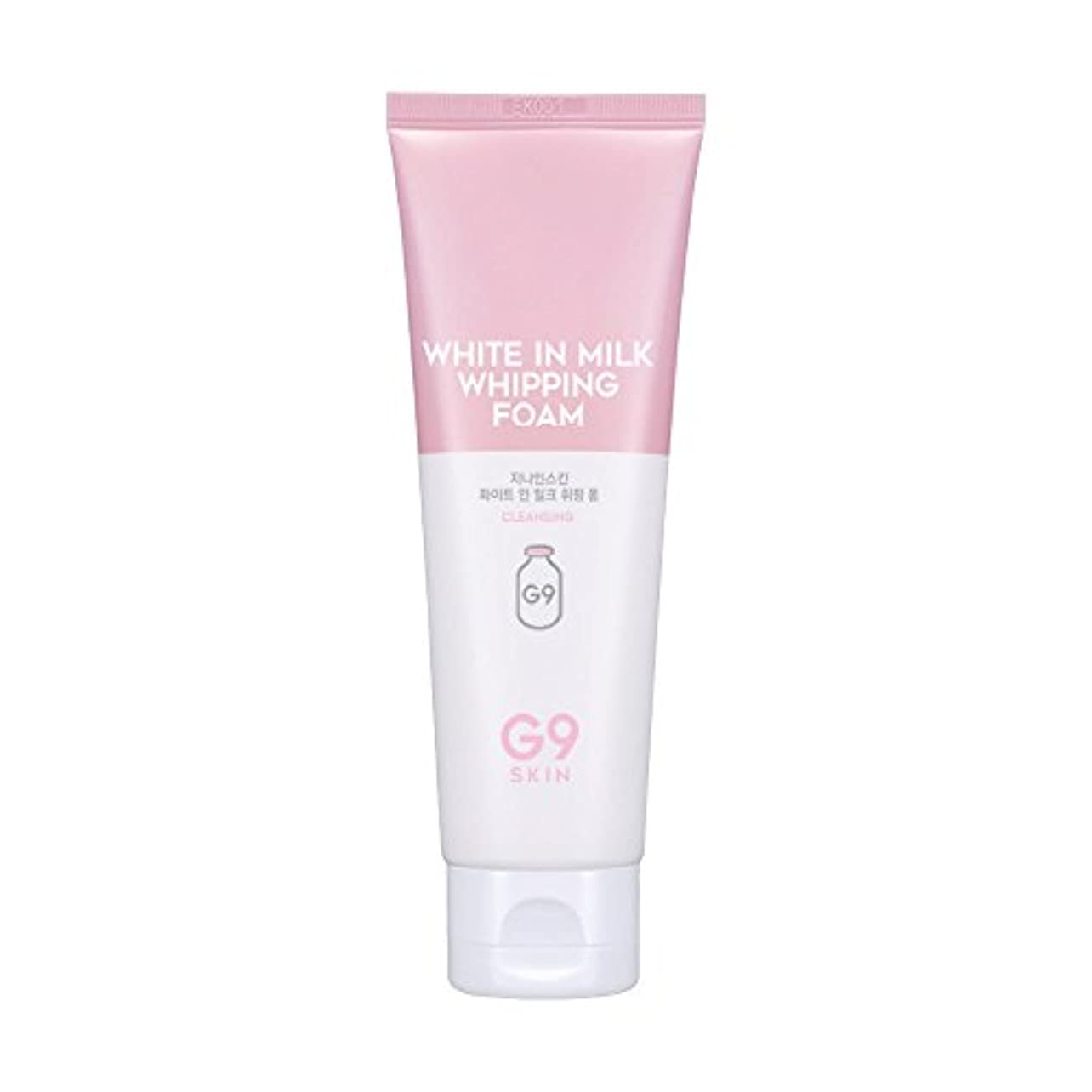 贅沢噛む配管工G9SKIN(ベリサム) White In Milk Whipping Foam ホワイトインミルクフォーム 120ml
