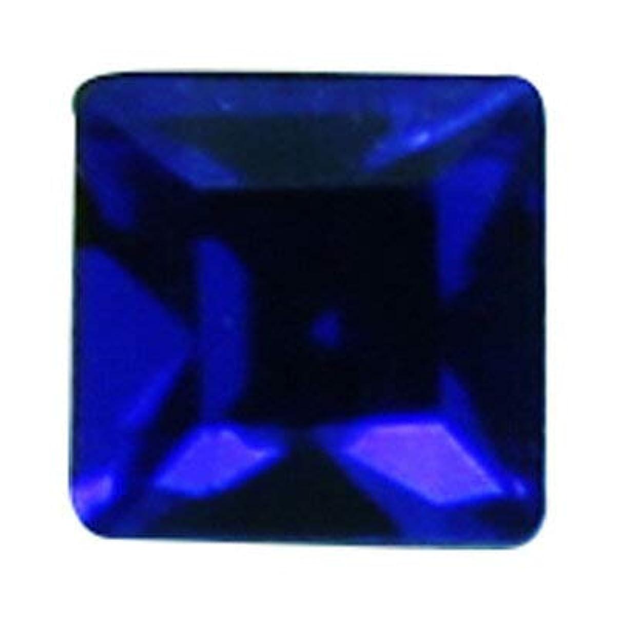 症候群血統ファントムSWAROVSKI マジェスティック?ブルー 3mm #4428 スクエア 24P