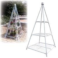 【まとめ 4セット】 マルハチ産業 簡易温室 ピラミッド 809930