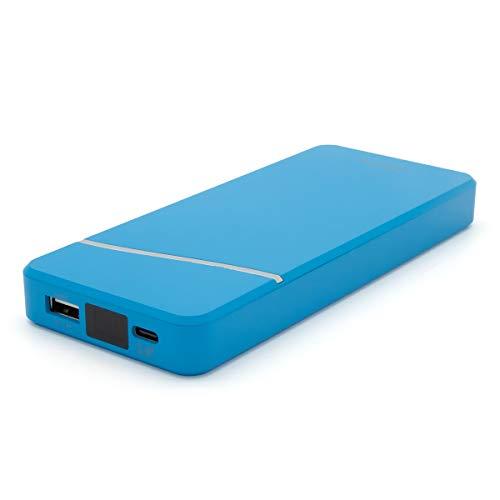 モバイルバッテリー cheero Stream 10000mAh PD 18W 大容量 (パワーデリバリー対応) 2ポート出力 Type-A Type-C 対応機種へ超高速充電 iPhone/Android 対応 AUTO-IC搭載 PSEマーク付 Power Delivery 対応 CtoCケーブル付 デジタルインジケータ CHE-103