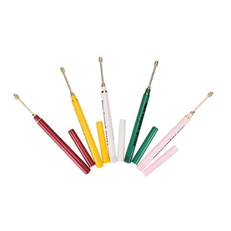 マットレステロリストマーベルZHQI-GH ランダムカラー2ピースイヤホンスプーンツールクリーン耳ワックスキュレットリムーバーヘルスケアカラフルなギフト (Color : Multi-colored)