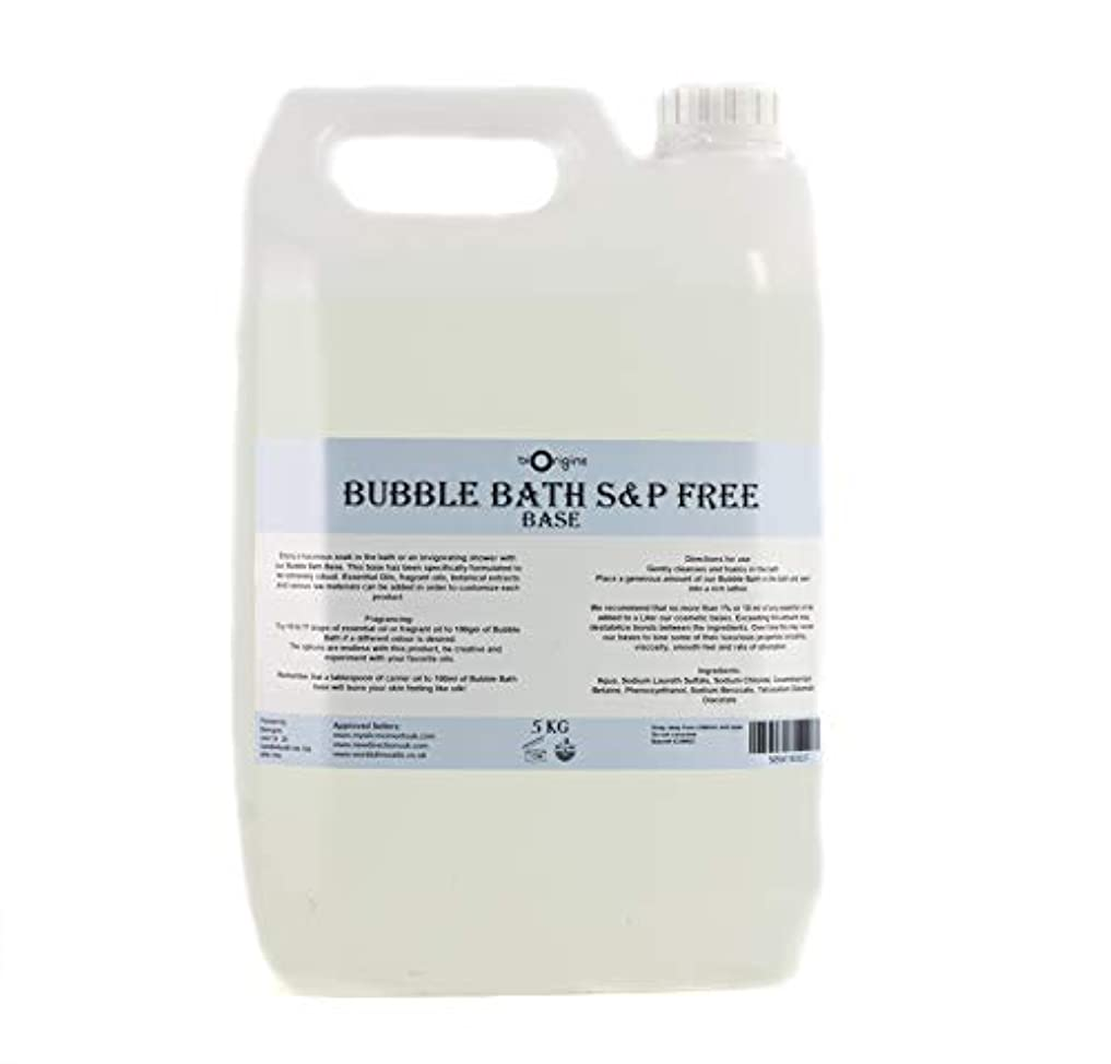 持ってる追記化合物Bubble Bath Base - SLS & Paraben Free - 5Kg