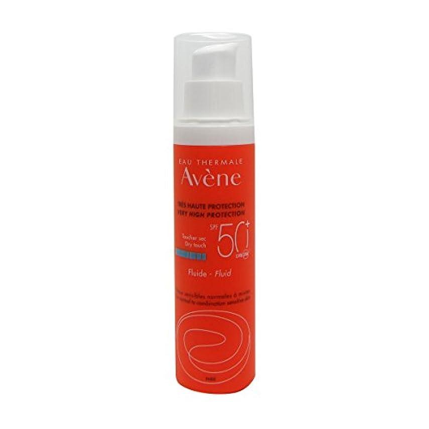 環境保護主義者雇った胸Avene Sunscreen Emulsion 50+ 50ml [並行輸入品]