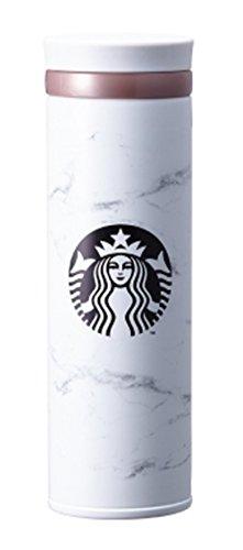 海外限定 スタバ マーブルホワイト タンブラー 保温保冷ボトル Starbucks JNO Marble white thermos 500ml [並行輸入品] (Marble)