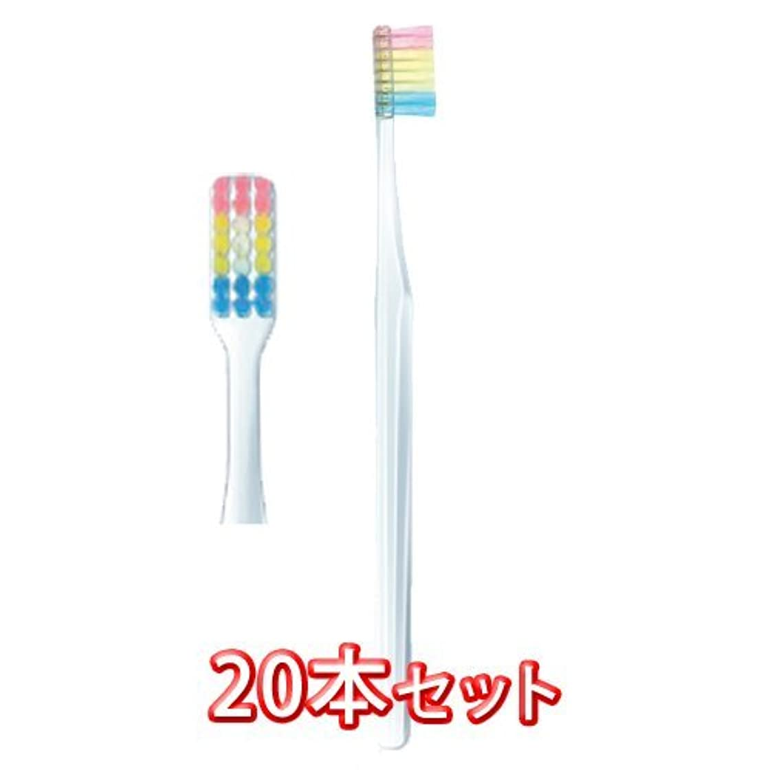 中絶大声でアメリカプロスペック 歯ブラシ ヤング 20本入 フォーレッスン 毛の硬さふつう